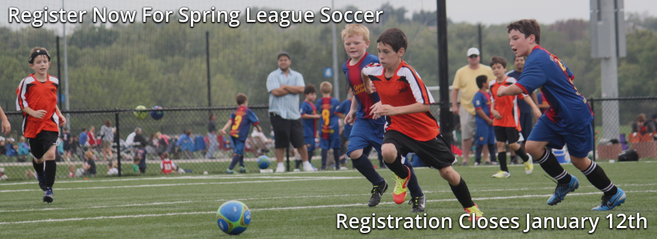 Register for Spring League Soccer